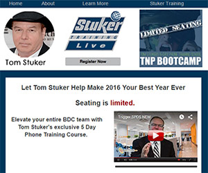 stuker training campaign